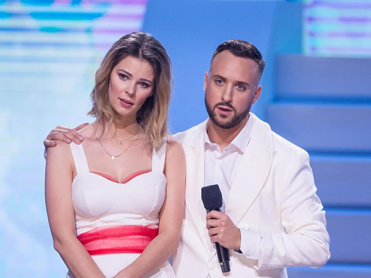Olek Sikora i Małgorzata Tomaszewska  w Dance Dance Dance