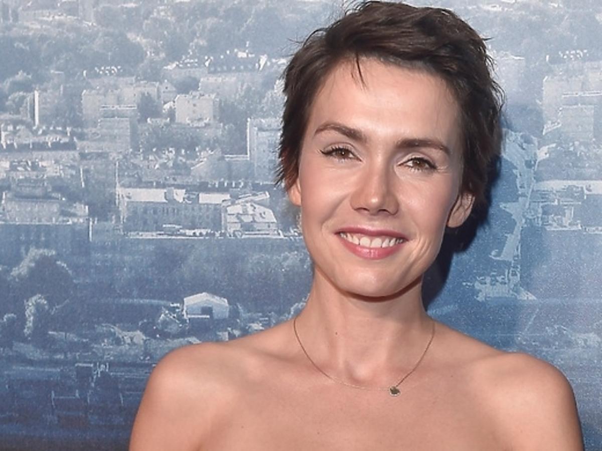 Olga Bołądź na premierze filmu Służby Specjalne