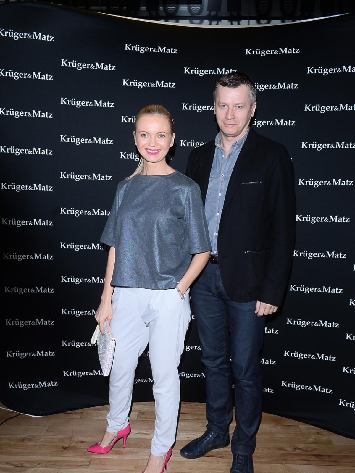 Olga Borys i Wojciech Majchrzak o na imprezie marki Kruger&Matz