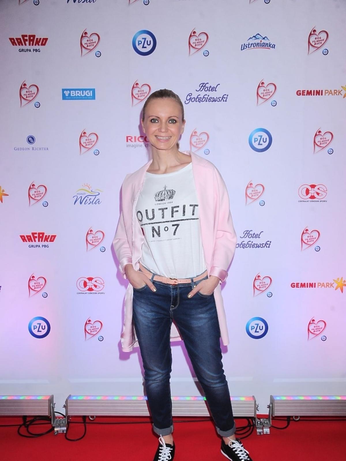Olga Borys na gali polskiej transplantacji