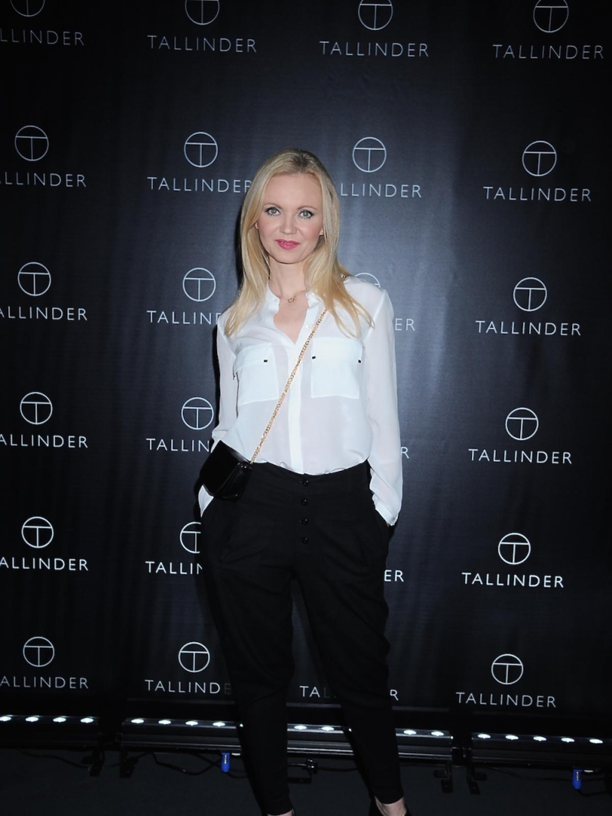 Olga Borys na prezentacji marki Tallinder