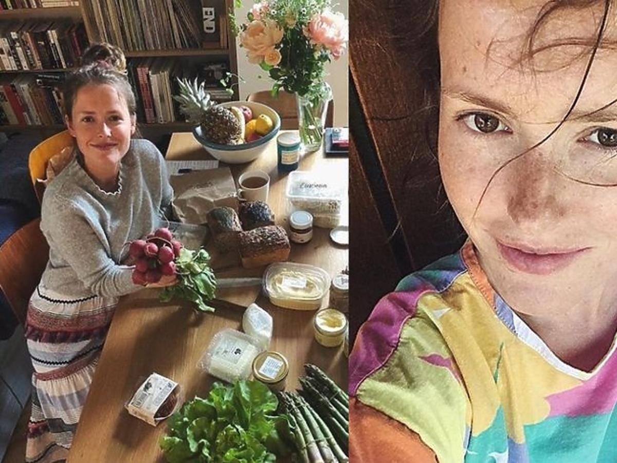 Olga Frycz pokazała ciążowy brzuszek