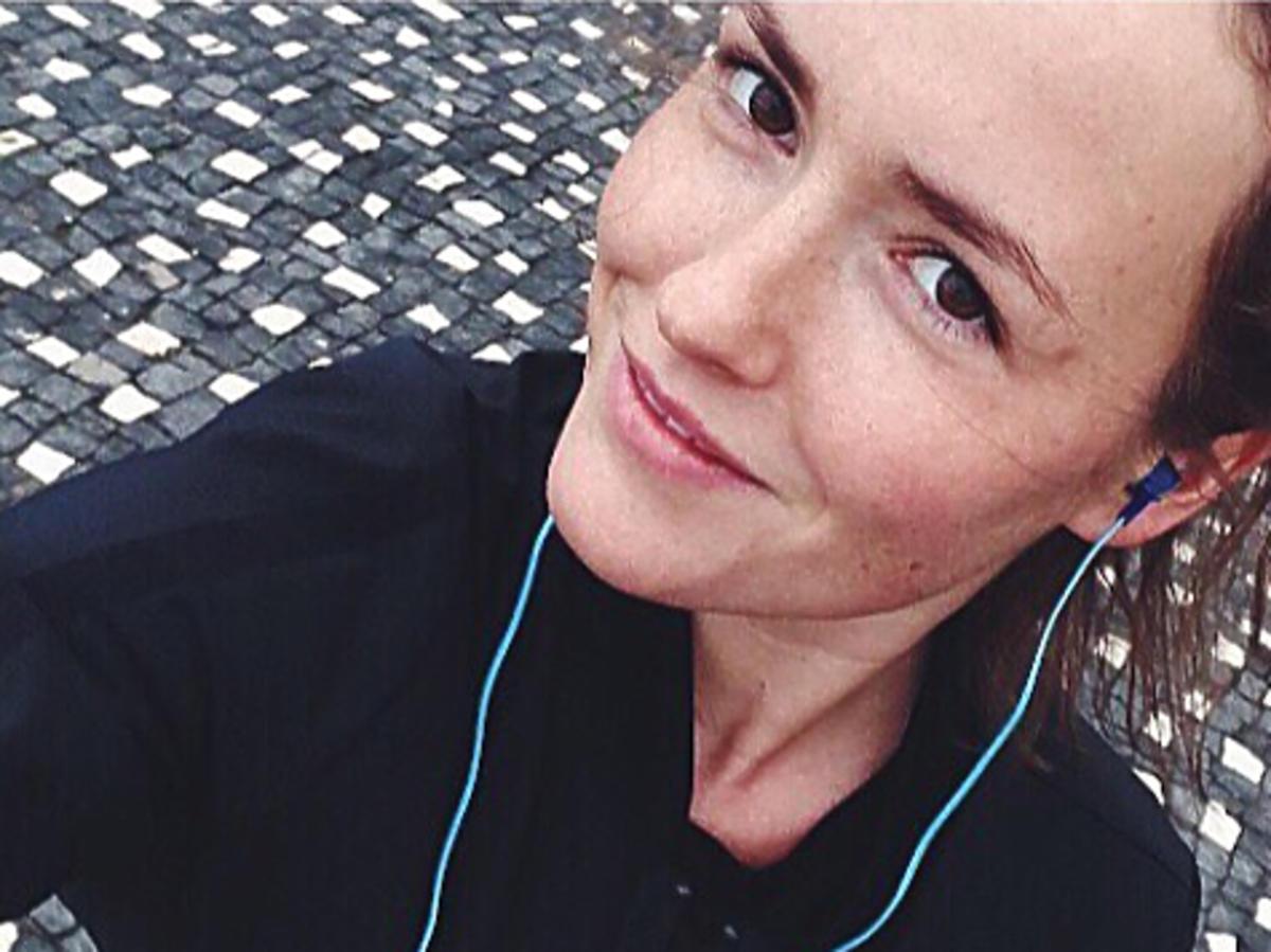 Olga Frycz na Instagramie