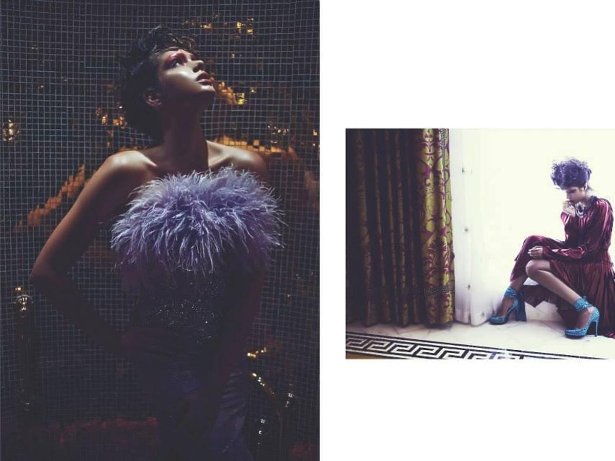 Olga Kaczyńska w Luxury Magazine