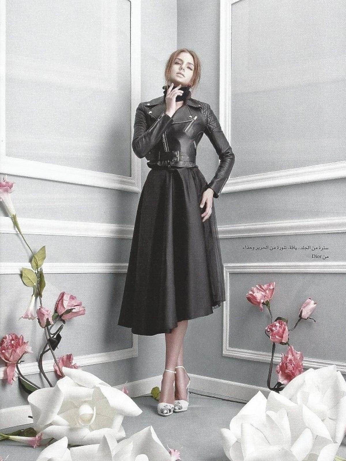 Olga Kaczyńska w sesji dla Haya Magazine