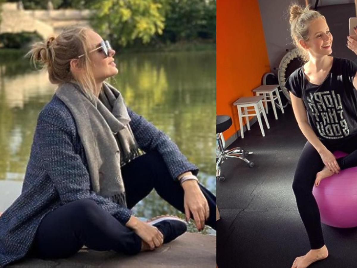 Olga Kalicka ćwiczenia w ciąży