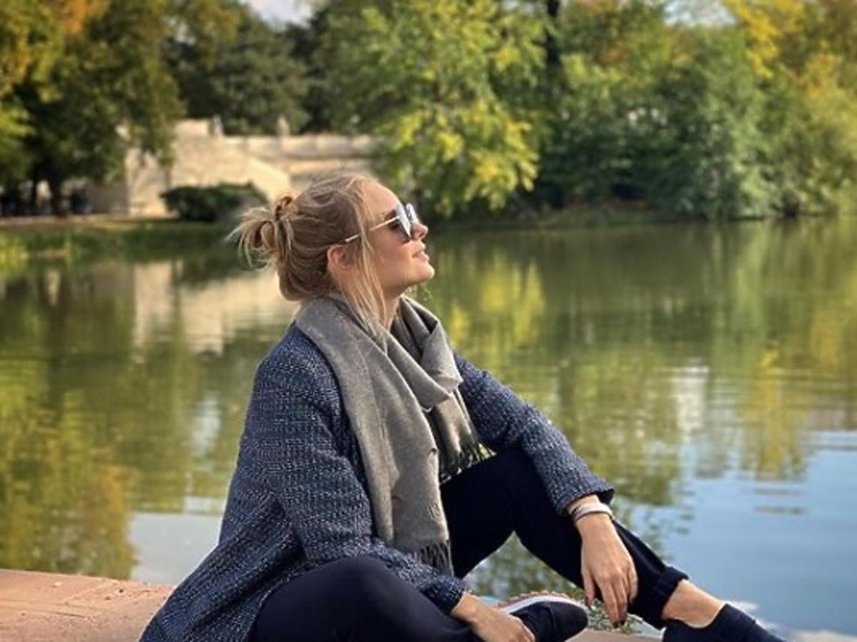 Olga Kalicka ćwiczy w ciąży