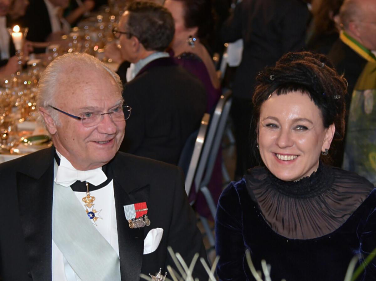 Olga Tokarczuk i król Szwecji