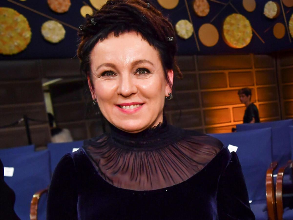 Olga Tokarczuk odebrała nagrodę Nobla