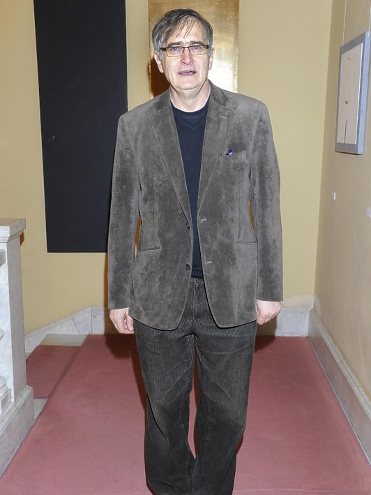 Olgierd Łukasiewicz na premierze