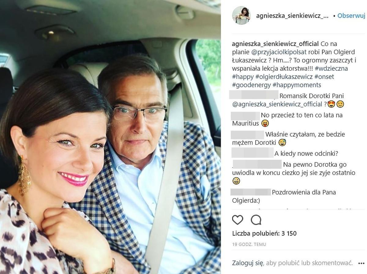 Olgierd Łukaszewicz zagra męża Dorotki z