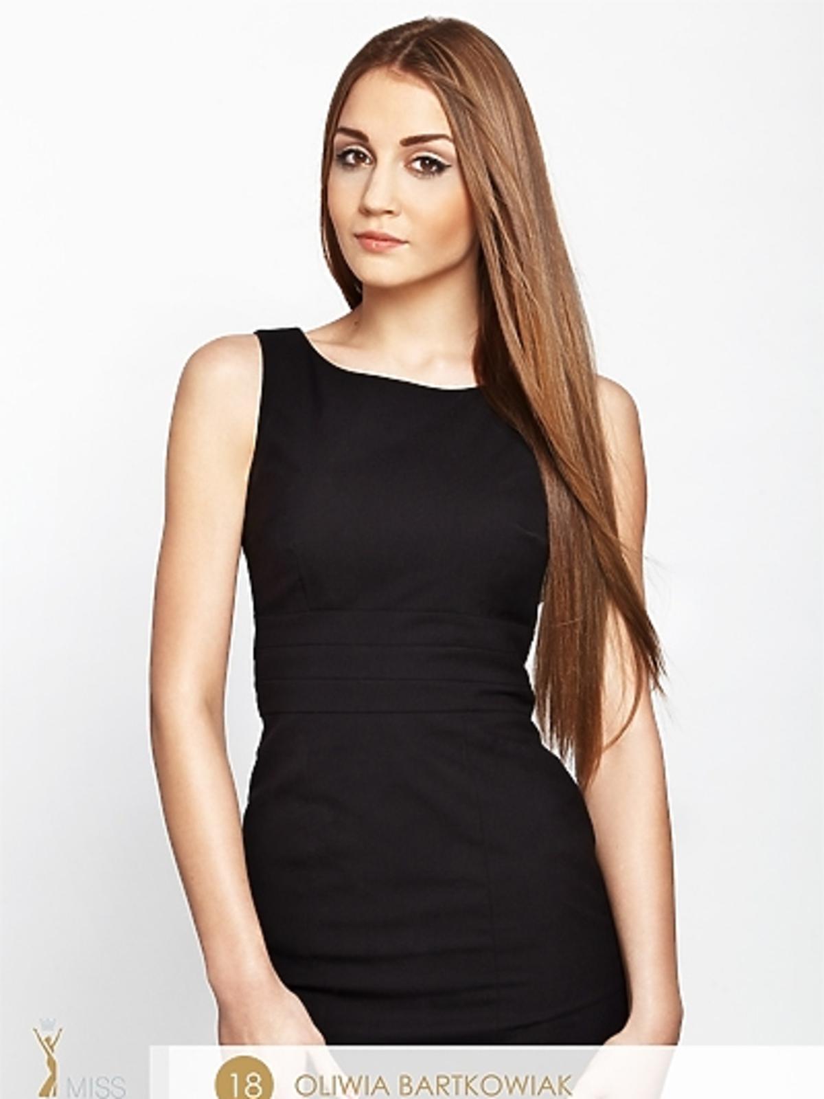 Olivia Bartkowiak - kandydatka do tytułu Miss Polonia 2012