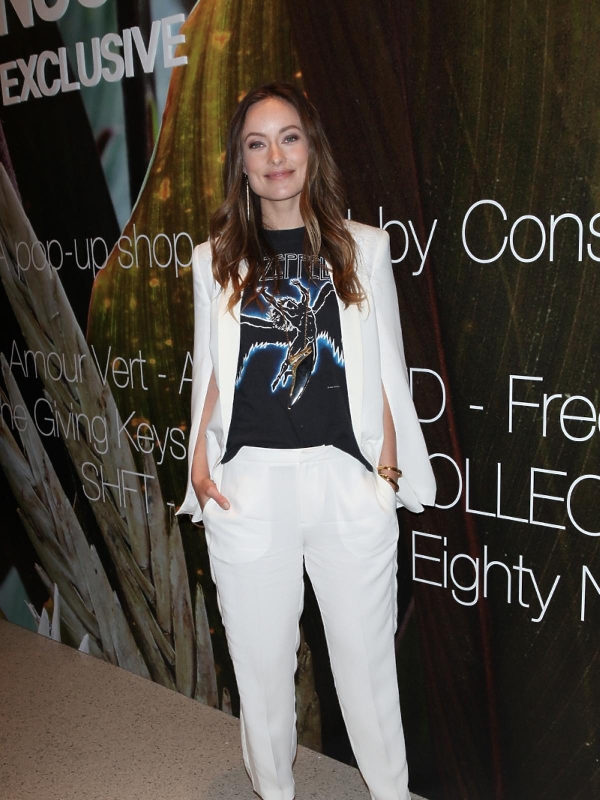 Olivia Wilde na imprezie H&M w Nowym Jorku
