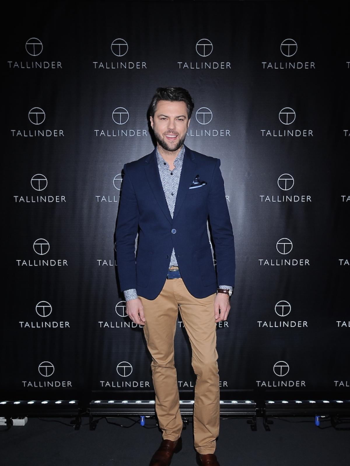 Olivier Janiak na prezentacji marki Tallinder