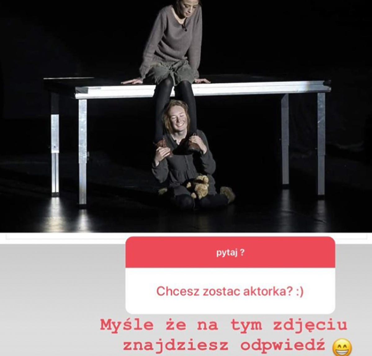 Oliwia Bieniuk chce zostać aktorką