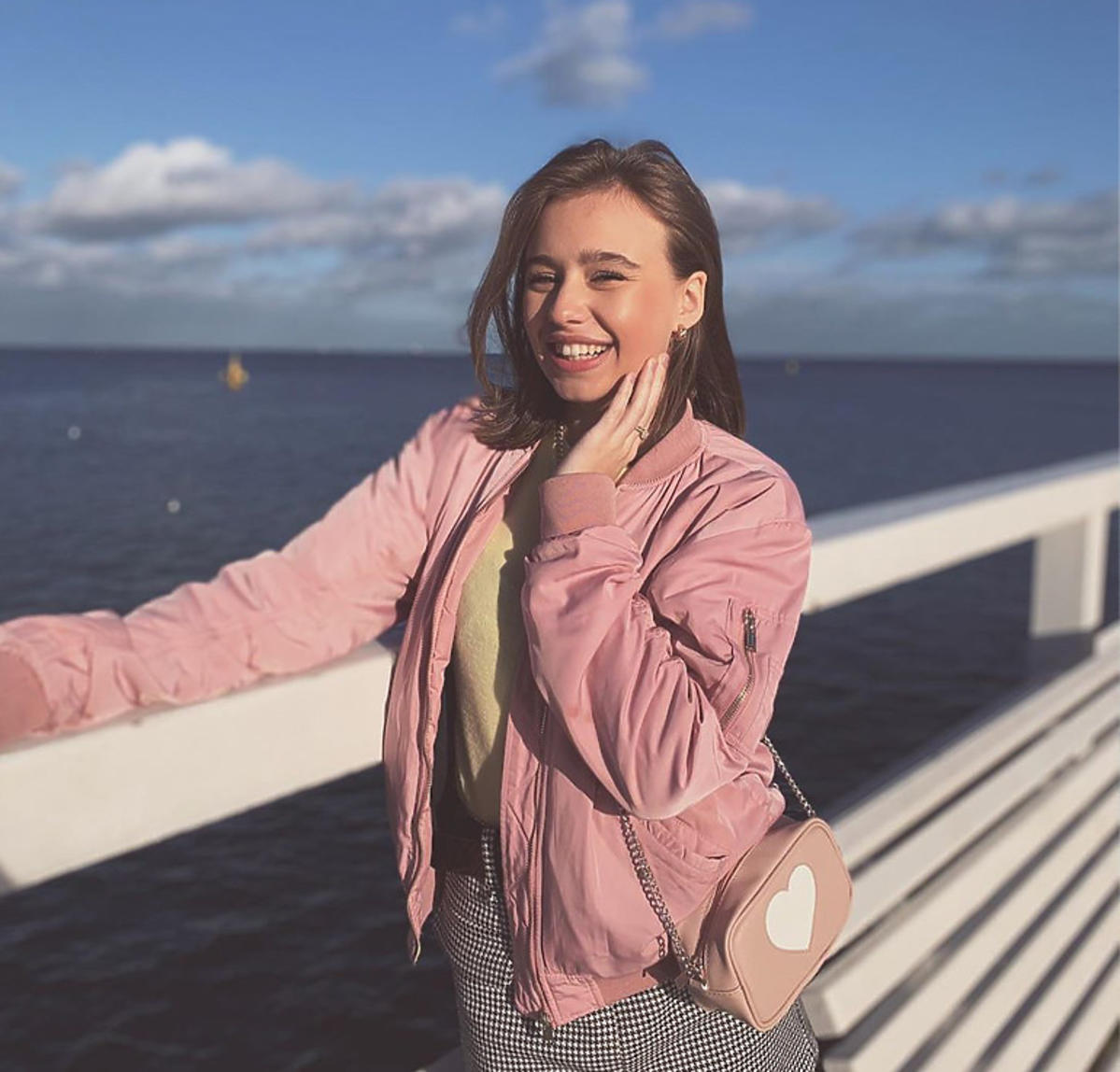 Oliwia Bieniuk w stylizacji na wiosnę 2020