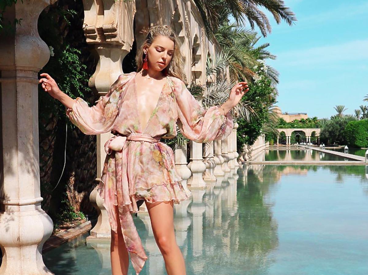 Oliwia Miśkiewicz z Love Island i jej sukienki
