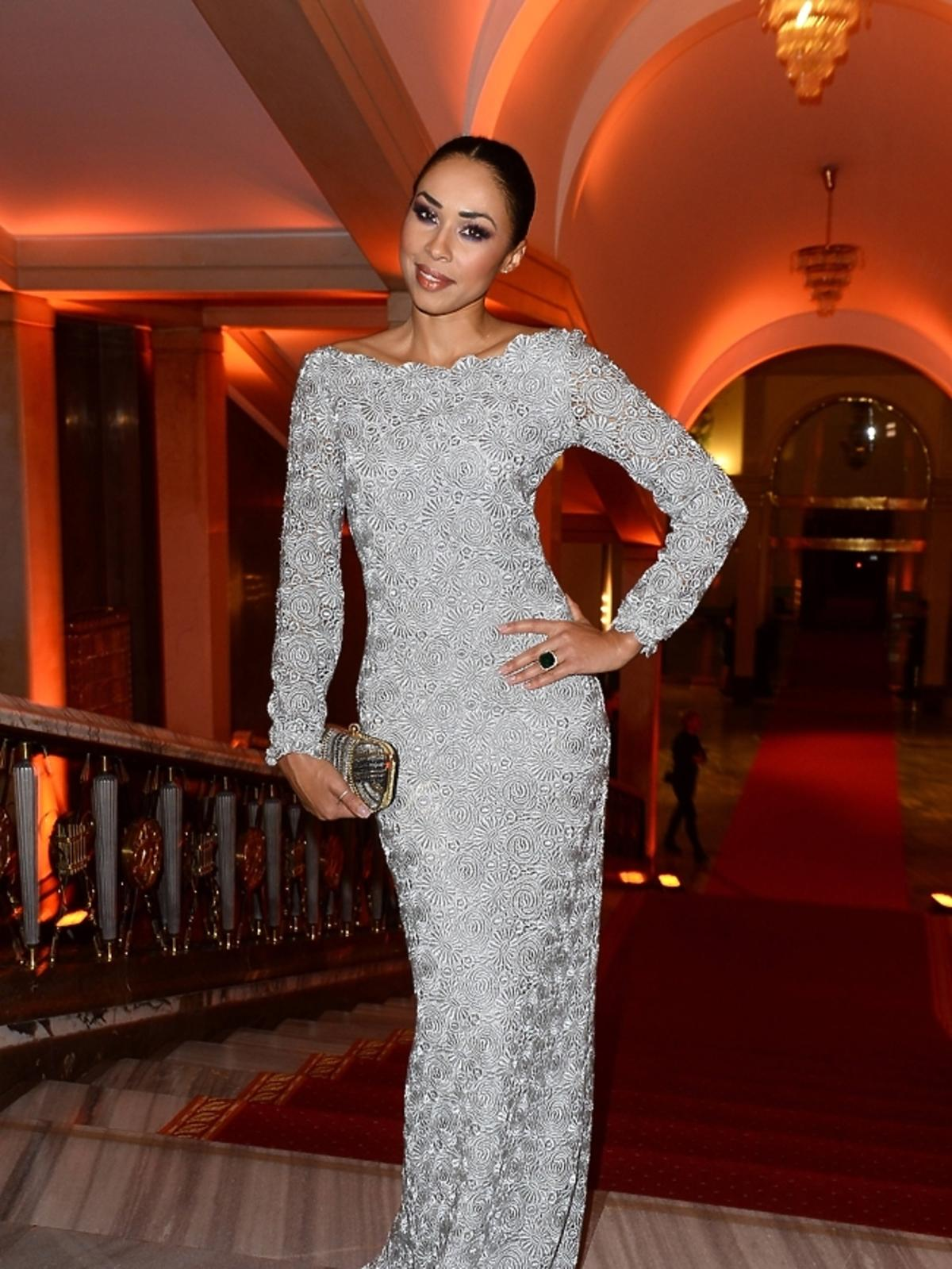 Omenaa Mensah na imprezie Flesz Fashion Night