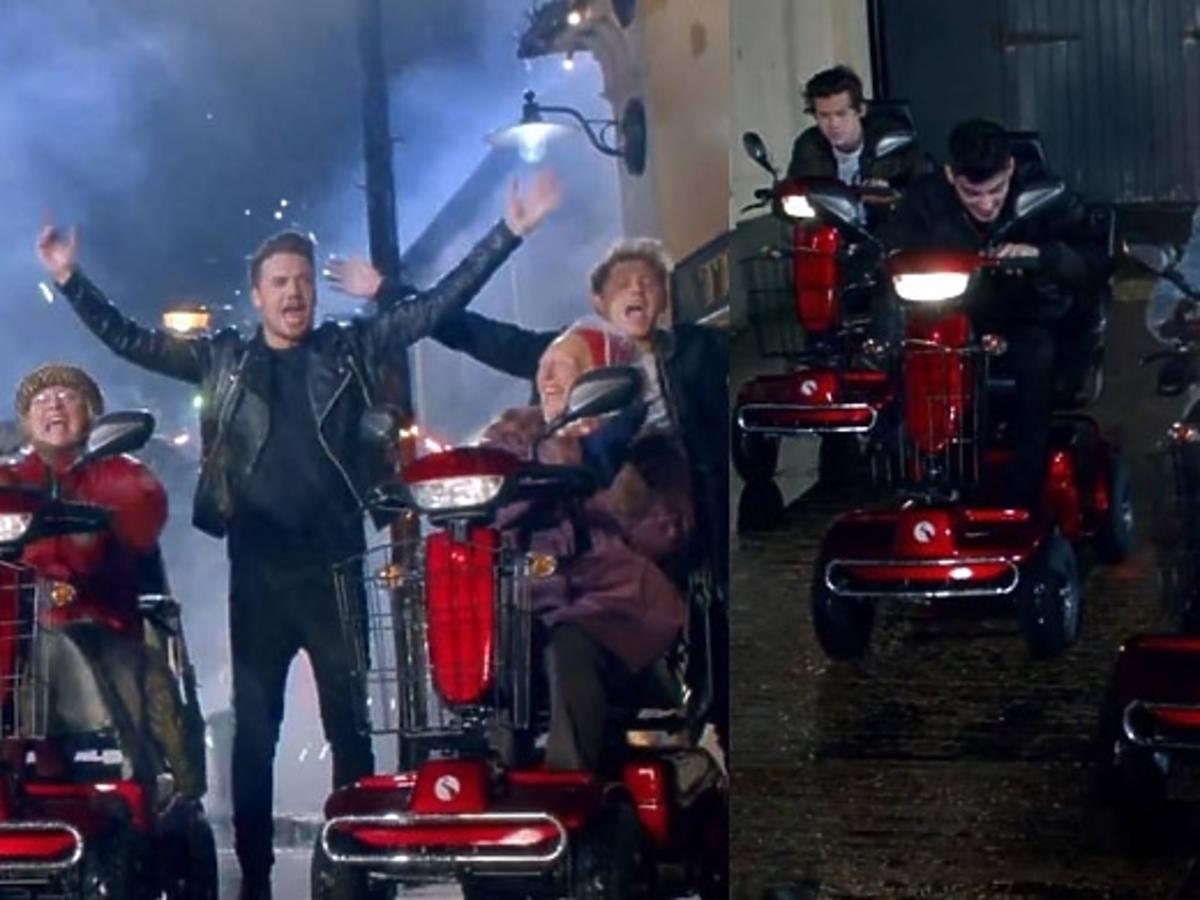 One Direction nowy teledysk. One Direction w Londynie. Niegrzeczni chłopcy z One Direction.