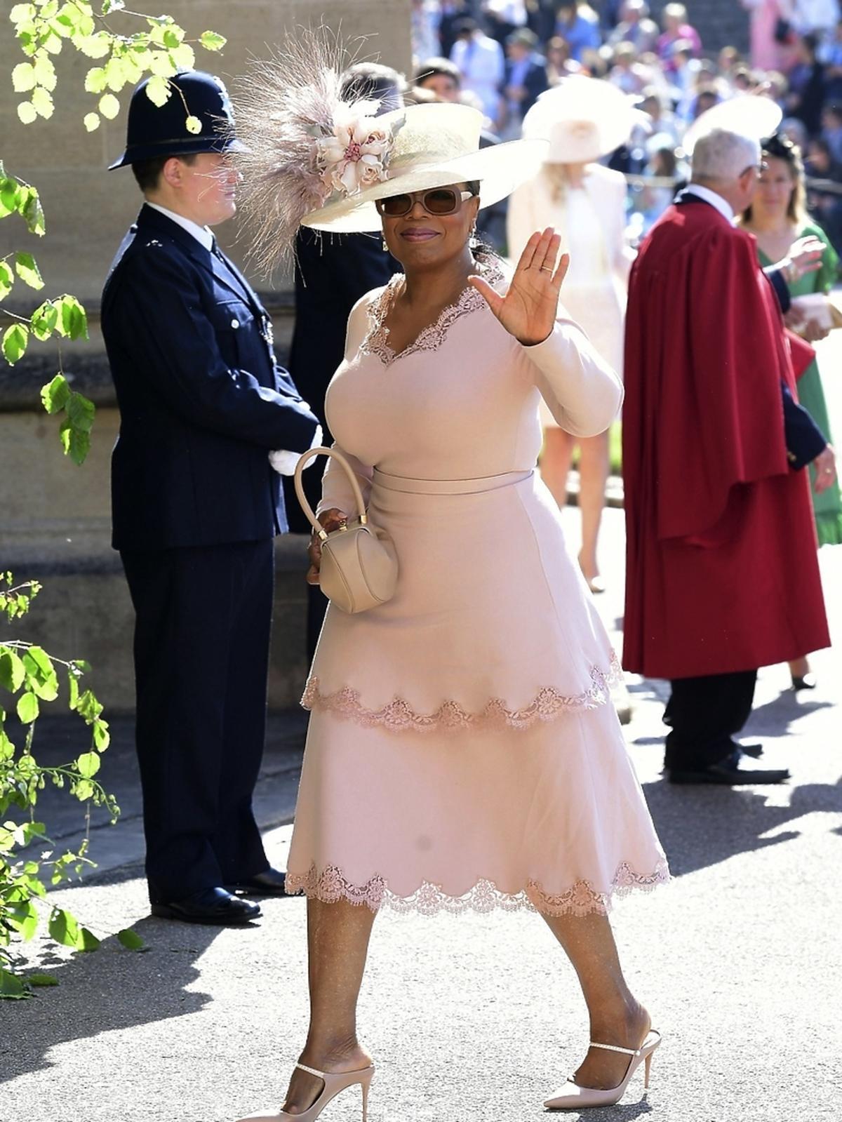 Oprah Winfrey na ślubie Meghan Markle i księcia Harry'ego