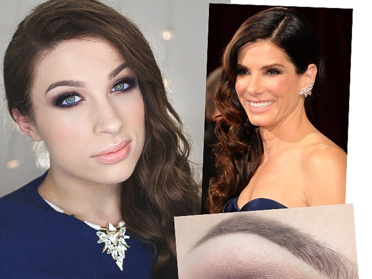 Oscary 2014: makijaż Sandry Bullock