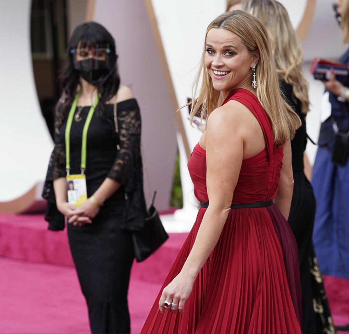 Oscary 2021: dlaczego goście nie nosili maseczek?