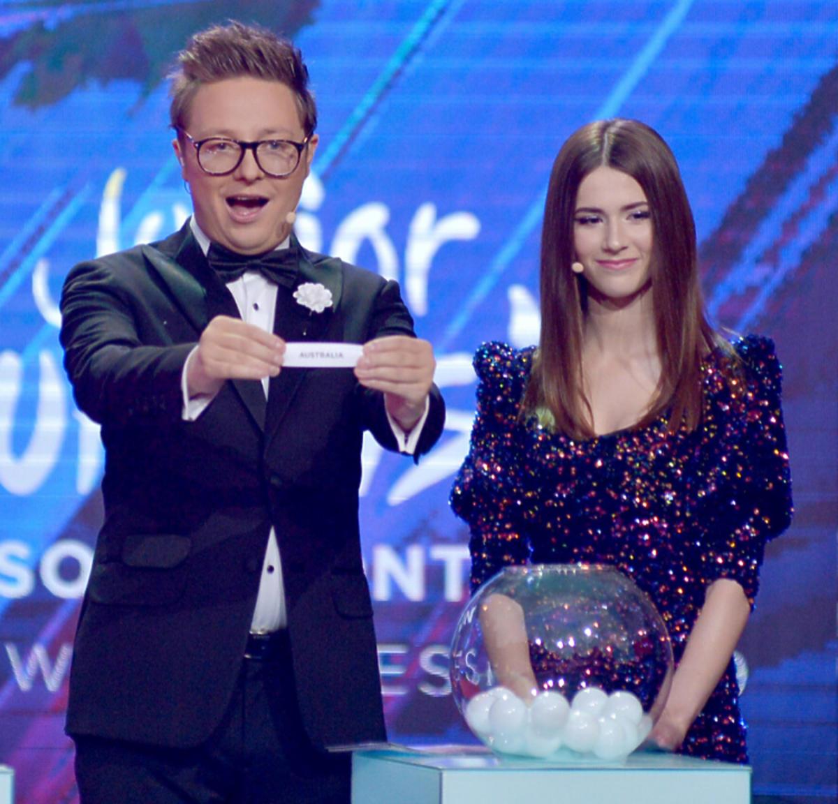Otwarcie Eurowizja. Roksana Węgiel