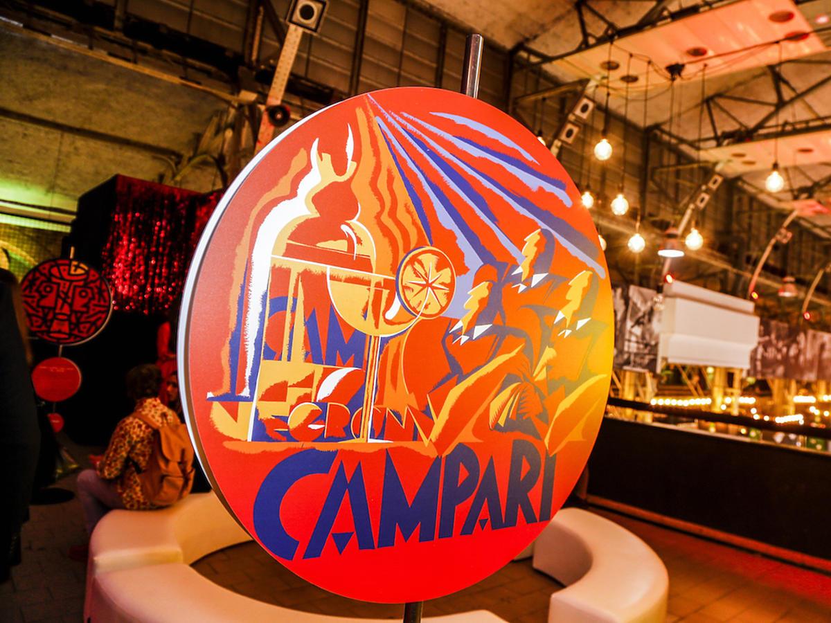 Otwarcie Pop Up Bar Campari