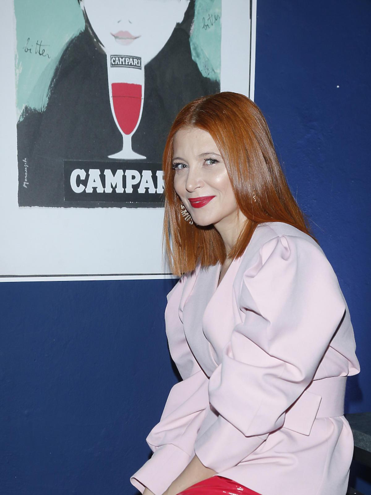 Otwarcie Pop Up Bar Campari - Ada Fijał