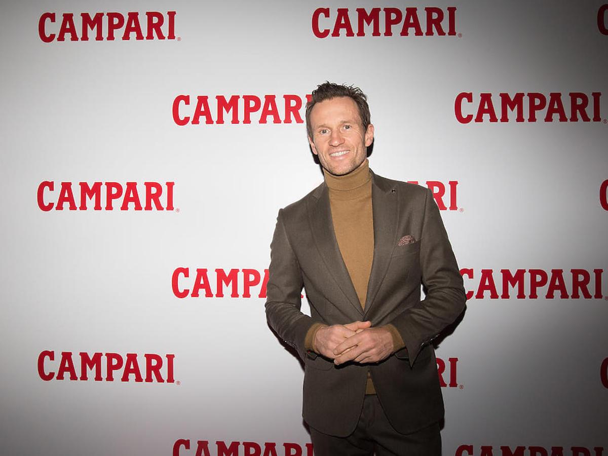 Otwarcie Pop Up Bar Campari  - Mariusz Czerkawski
