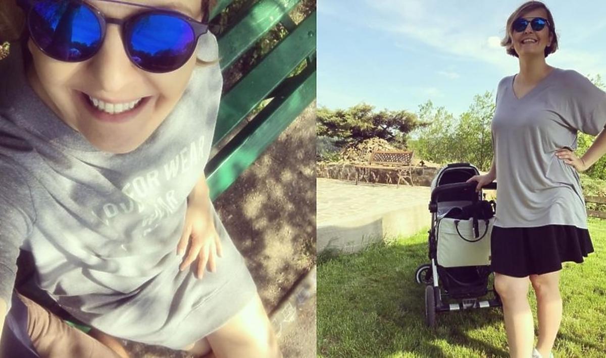 Otylia Jędrzejczak pokazała drugi wózek córki