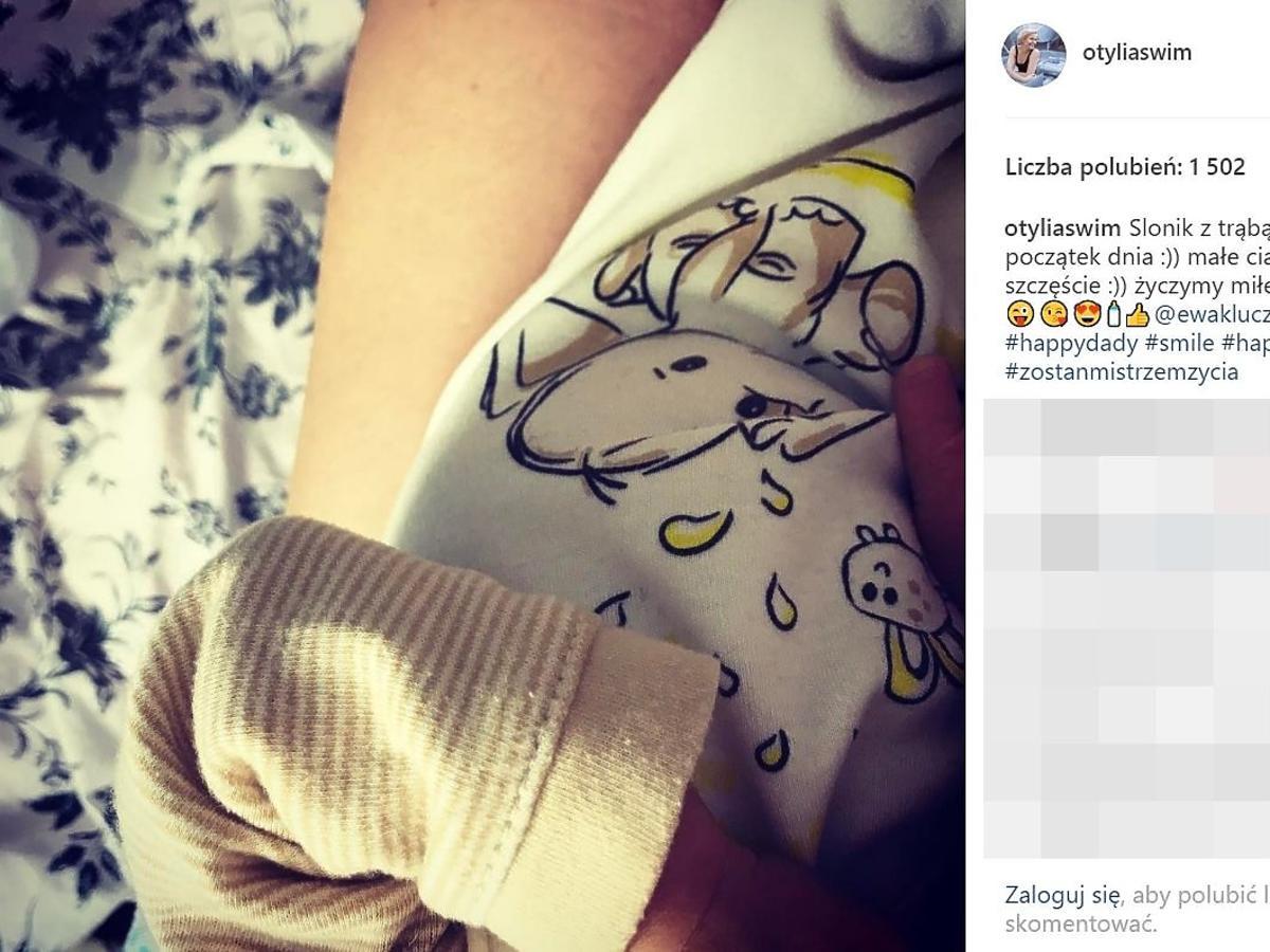 Otylia Jędrzejczak pokazała zdjęcie córki