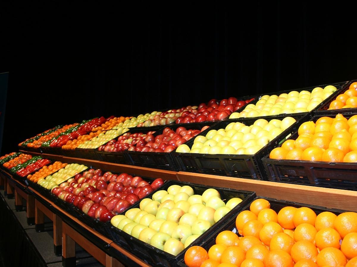 owoce na wagę