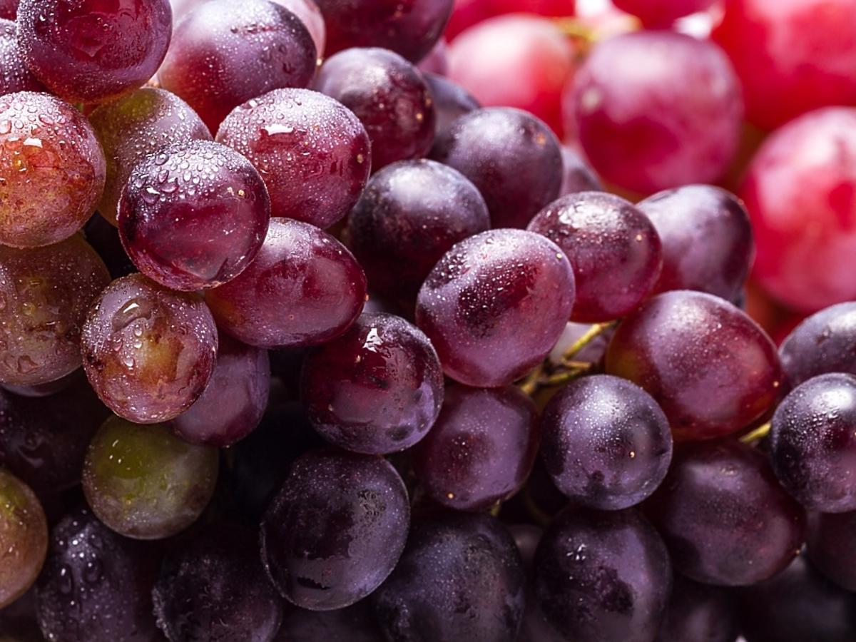 Owoce winogrona
