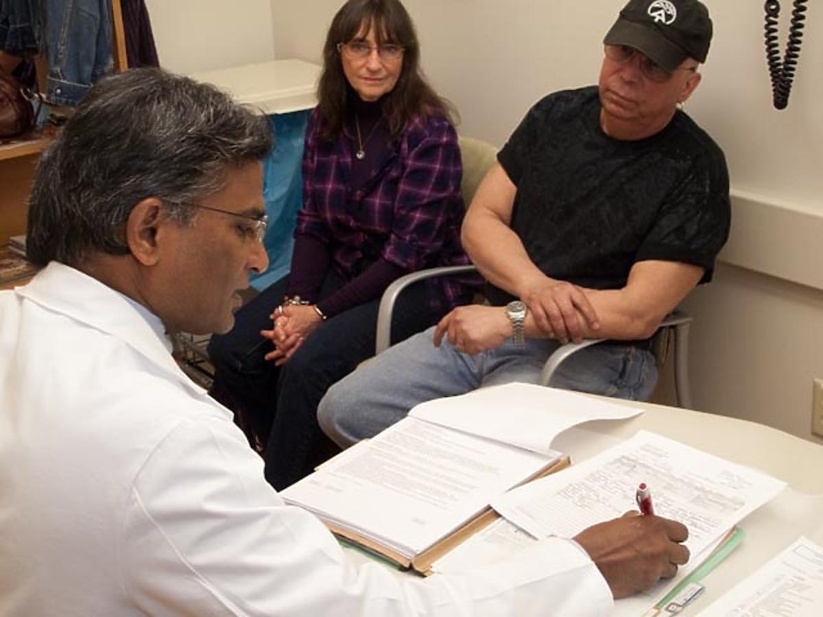 Pacjenci na wizycie u lekarza