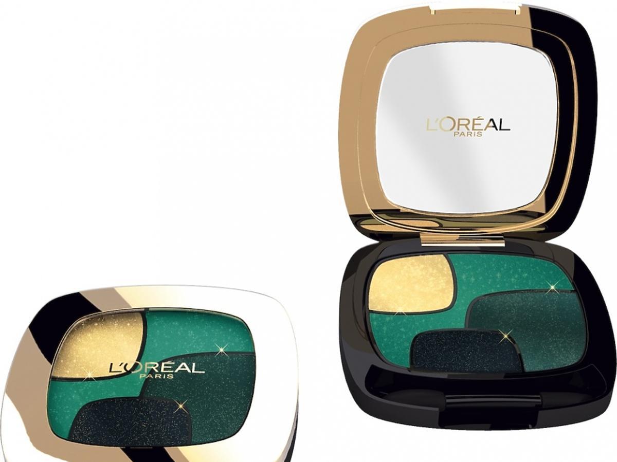 Paleta cieni Color Riche Les Ombres Emerald Conquest, L'Oreal Paris, 45 zł