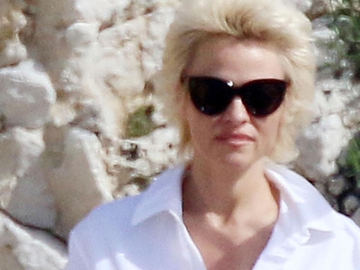 Pamela Anderson i Rick Salomon w Cannes