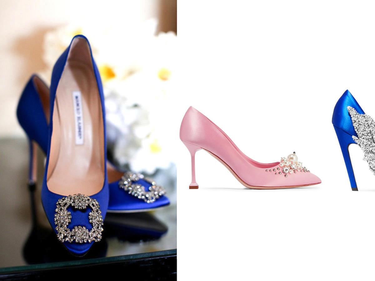 Pantofle w stylu Hangisi od Manolo Blahnika