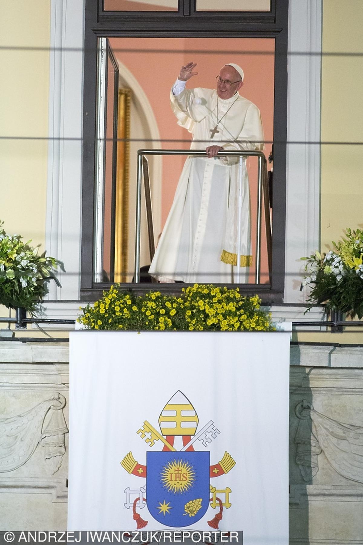 Papież Franciszek na pielgrzymce w Polsce