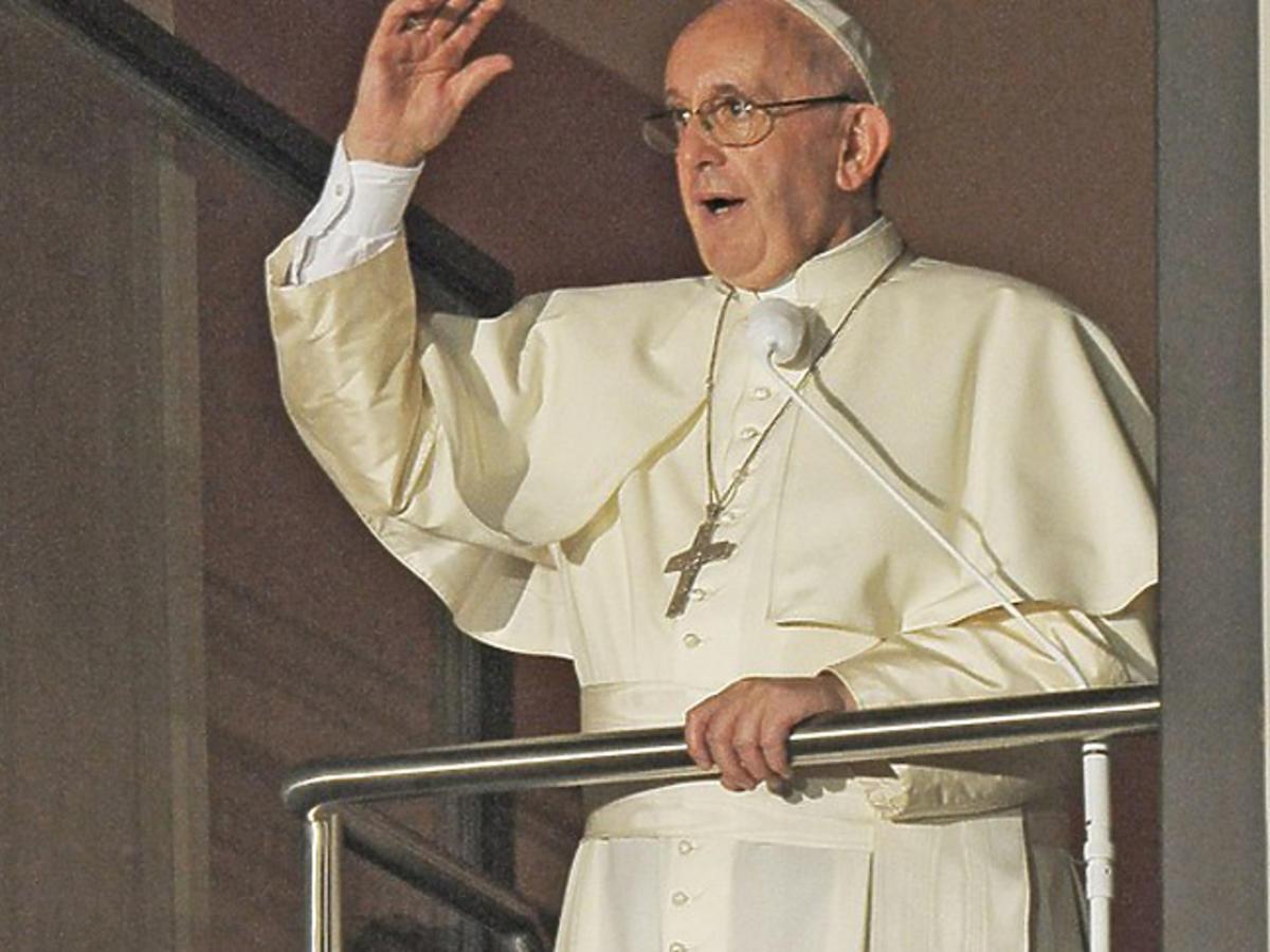 Papież Franciszek o Macieju Cieśli
