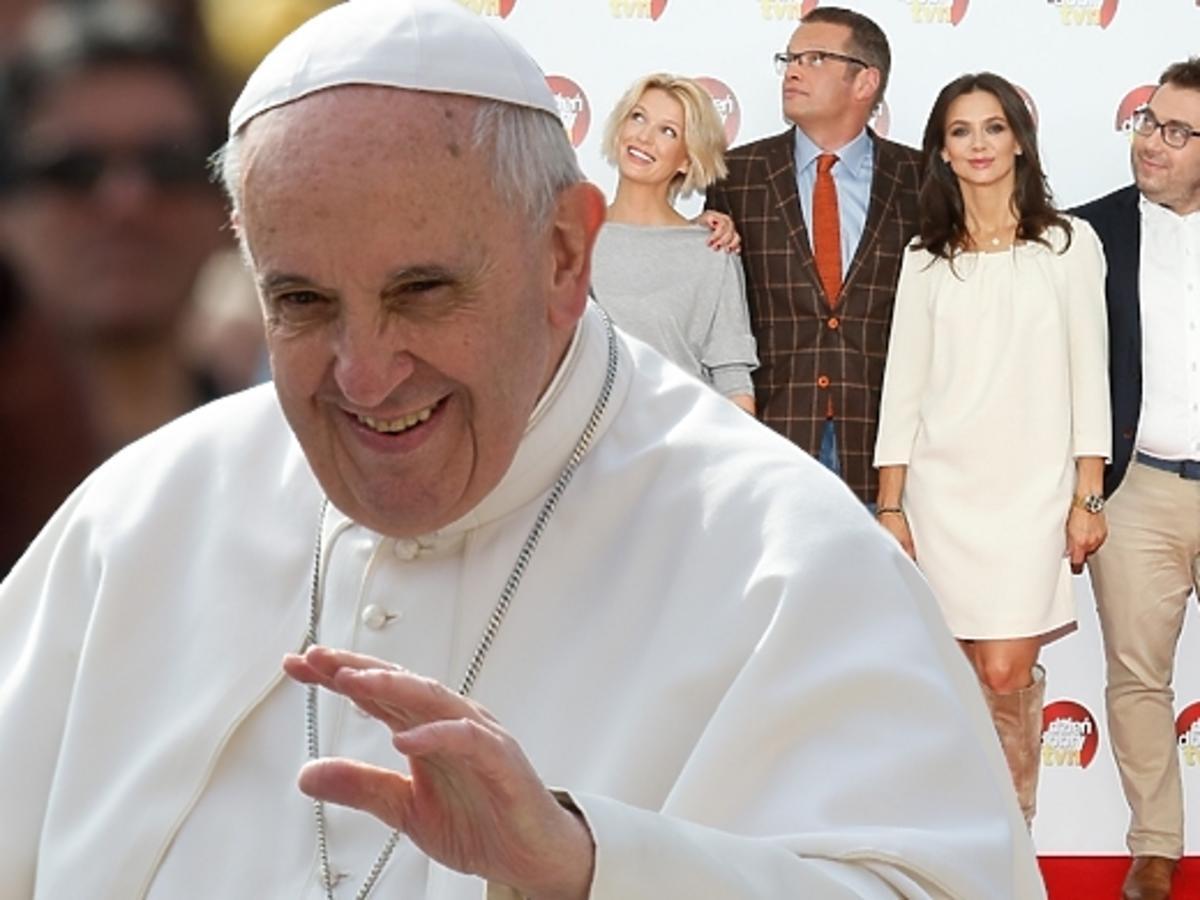 Papież Franciszek ogląda Dzień Dobry TVN