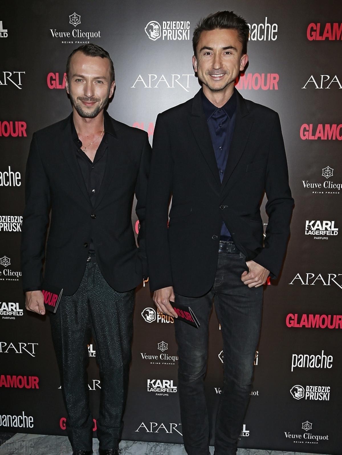 Paprocki i Brzozowski na Kobieta Roku Glamour 2014