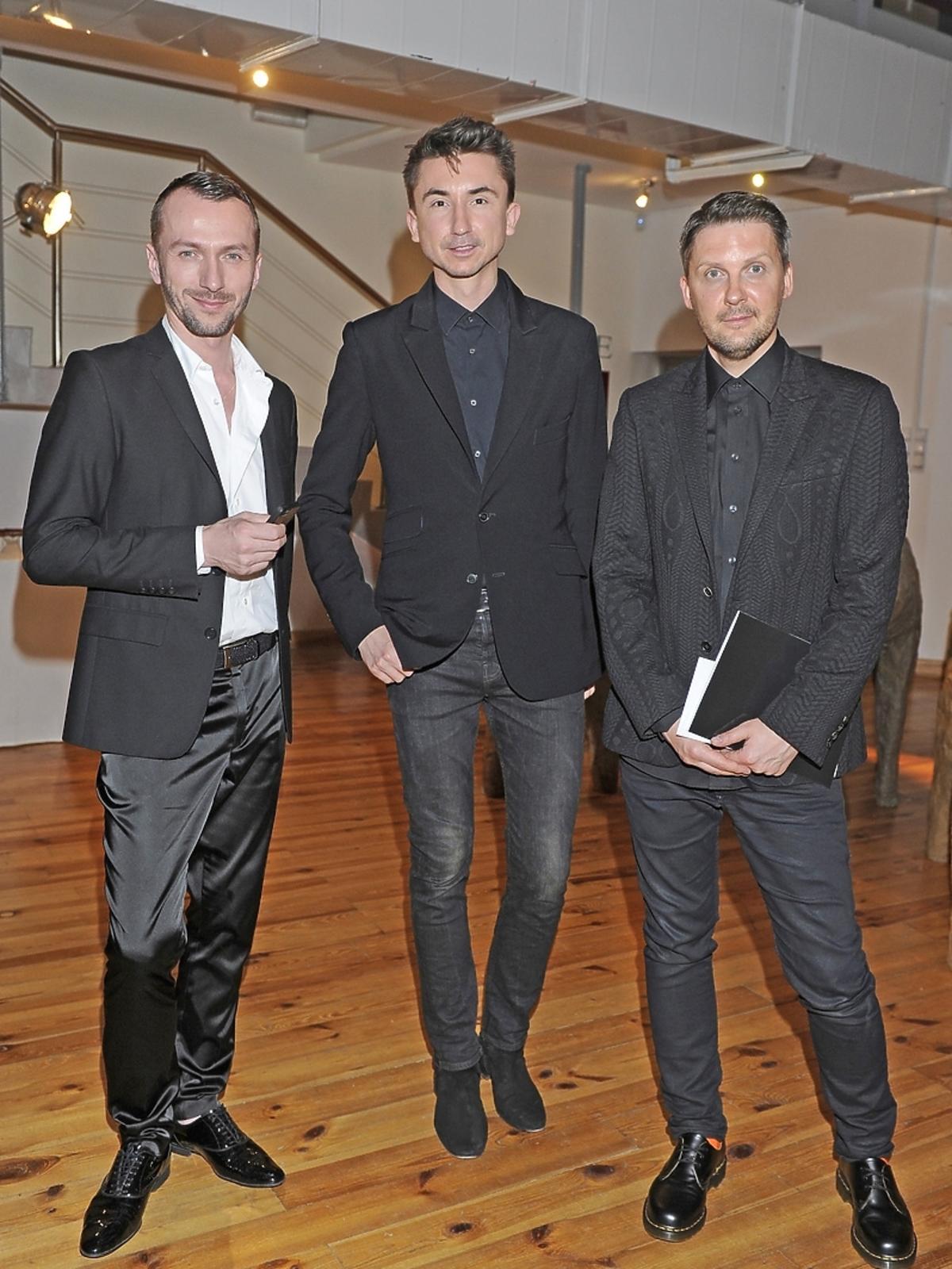Paprocki, Przybylski i Brzozowski na Off Fashion w Kielcach