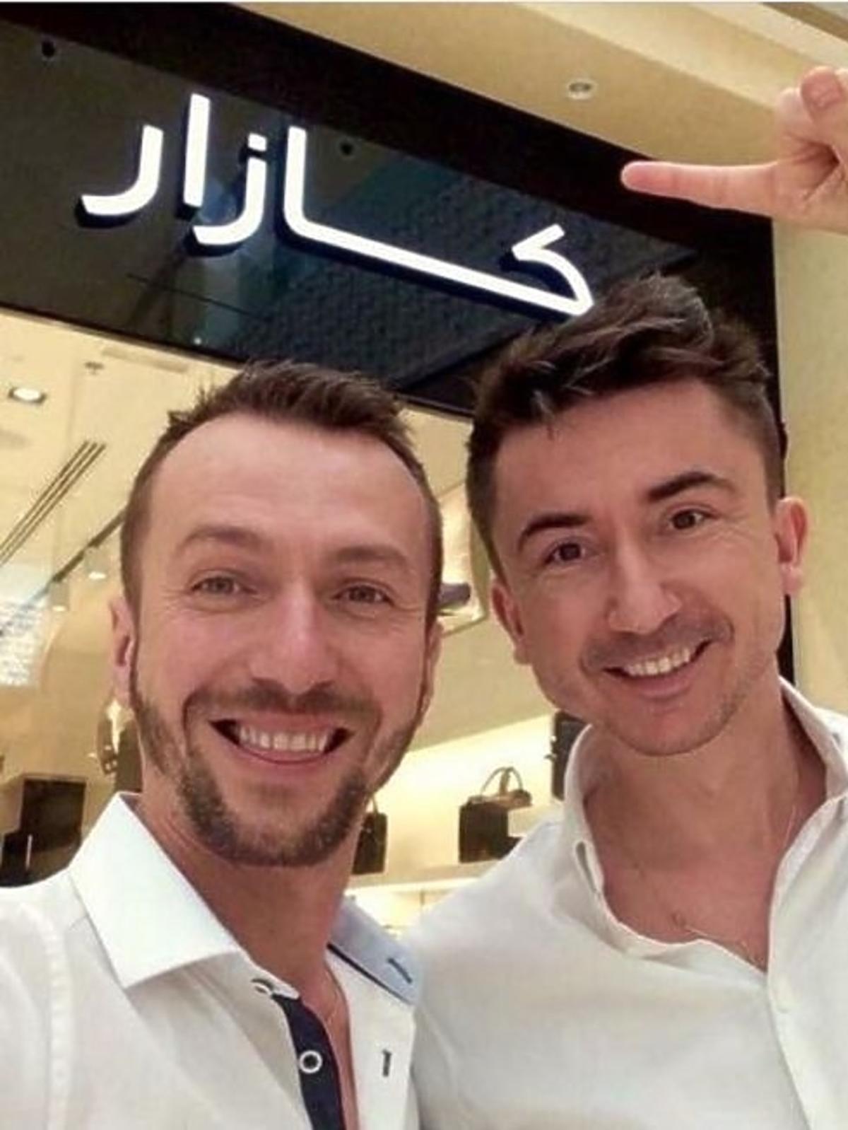 Paprocki&Brzozowski w Dubaju na otwarciu butiku KAZAR