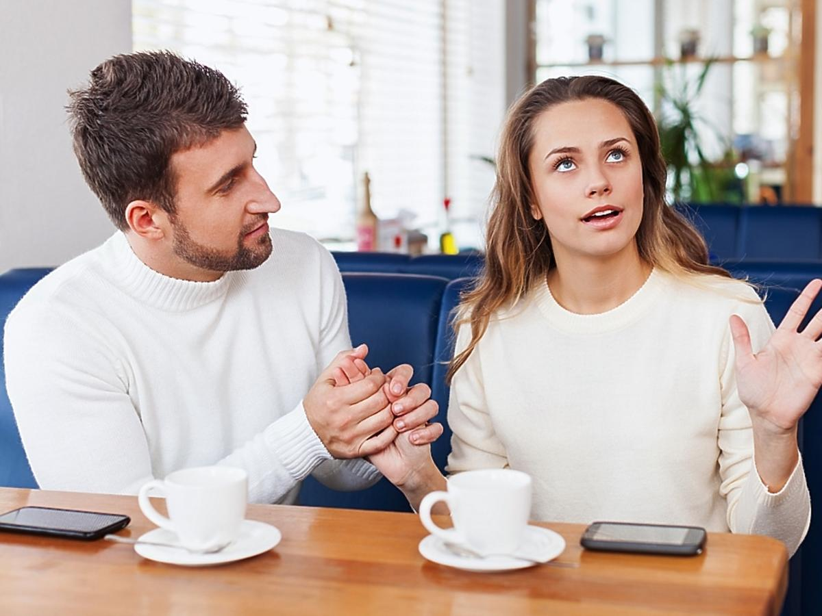 Para kłócąca się