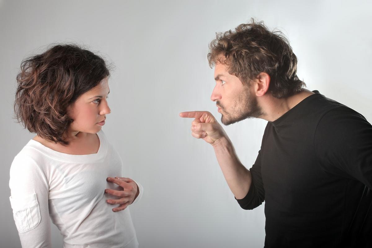 Para się kłóci