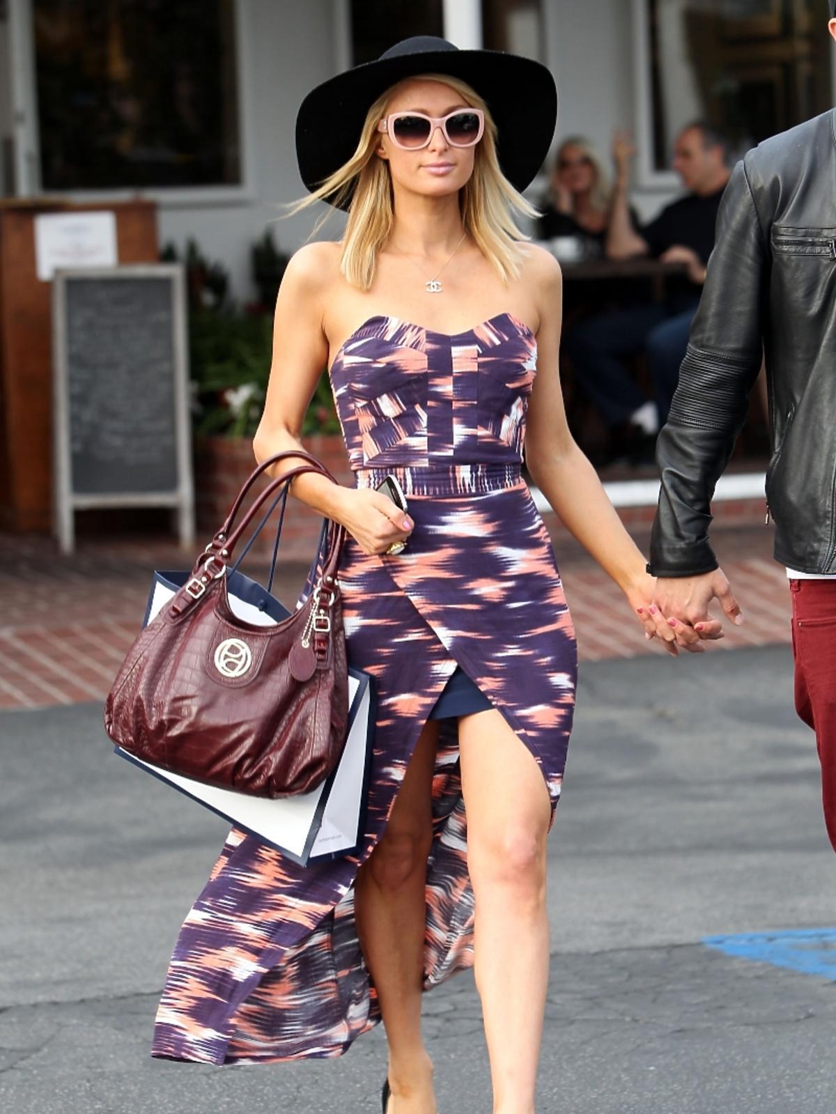 Paris Hilton i River Viiperi na ulicach Los Angeles