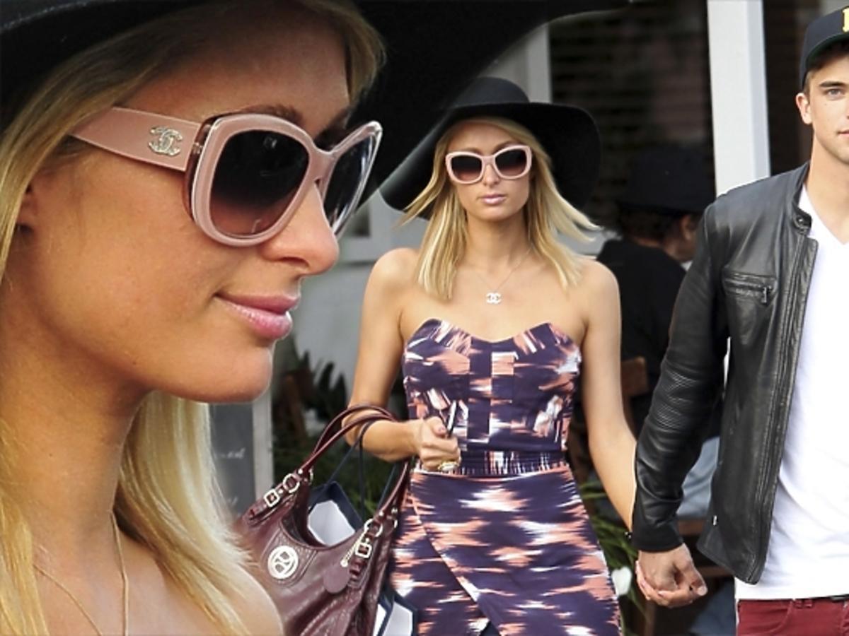 Paris Hilton i River Viiperi wracają z restauracji