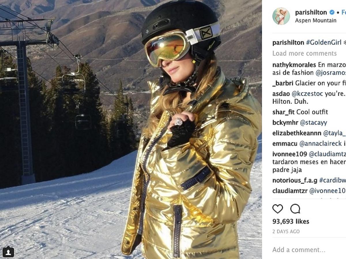 Paris Hilton pierścionek zaręczynowy