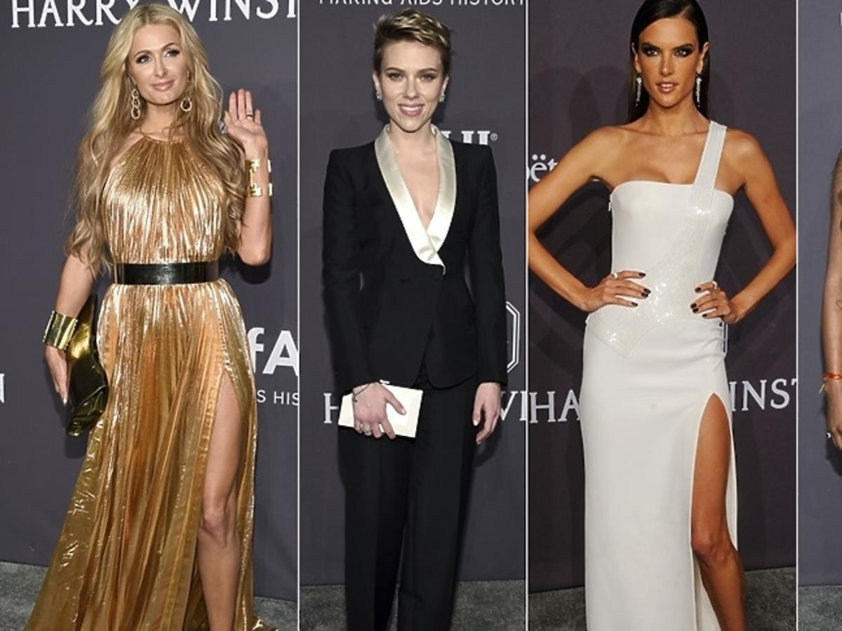Paris Hilton, Scarlett Johansson, Alessandra Ambrosio, Noami Campbell